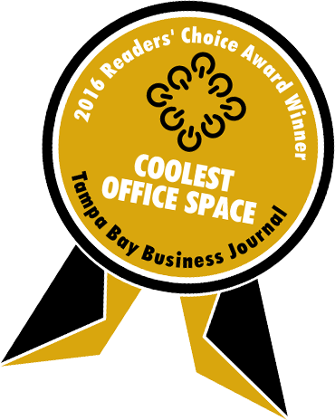 2016 coolest office space black gold badge copy my office more