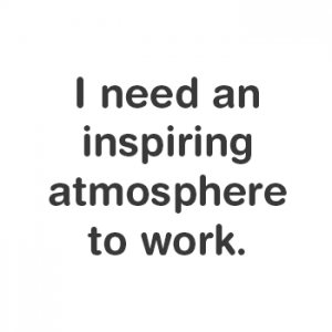 Inspiring Atmosphere | My Office and More