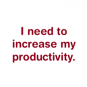 Increase Productivity | My Office and More