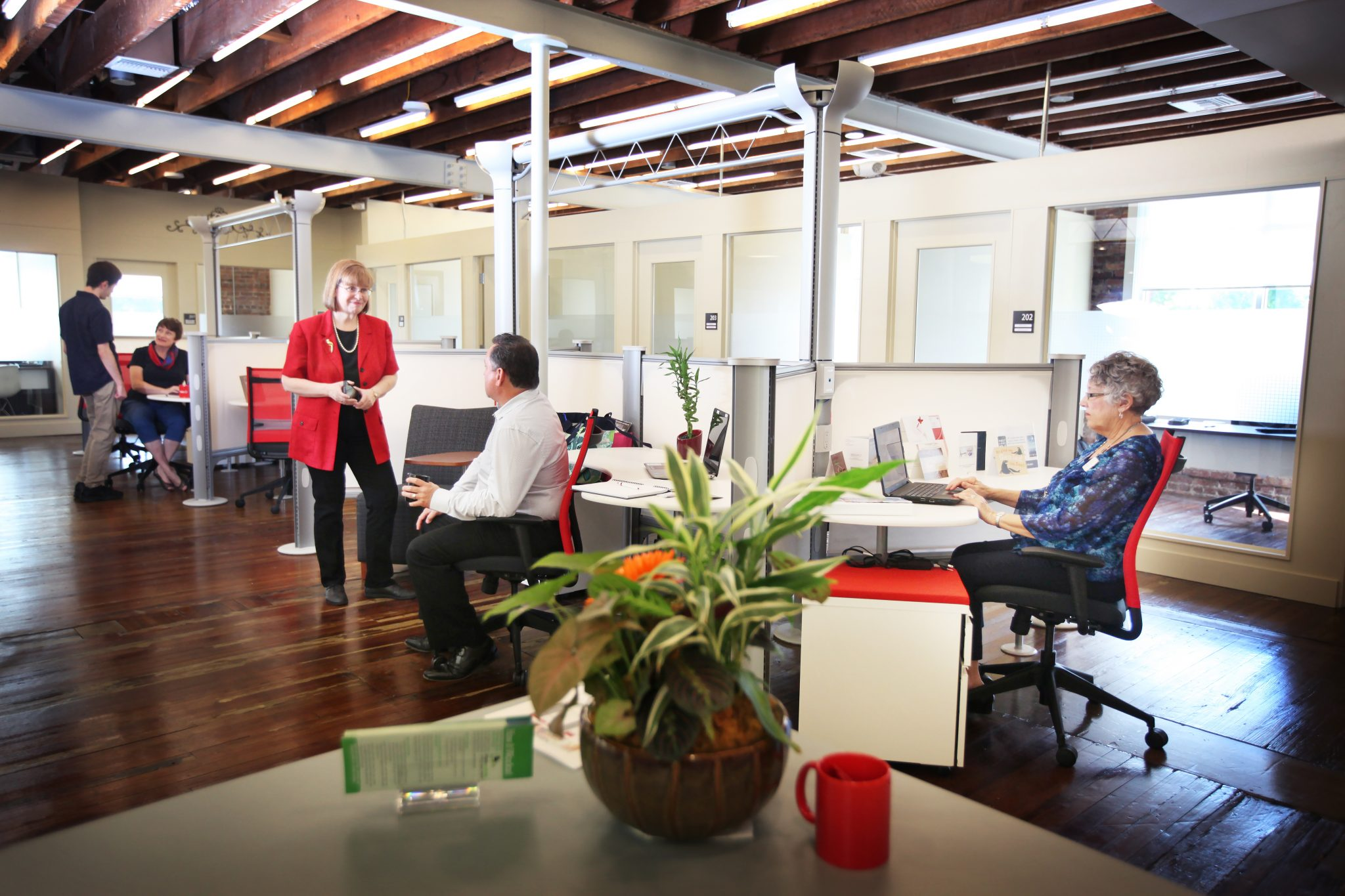 Coworking Desk in Lakeland Florida   My Office and More